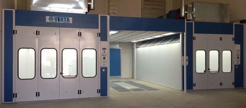 Tercarbox alquiler de cabinas de pintura para coches furgonetas y motos alquiler de box de - Cabina de pintura coches ...